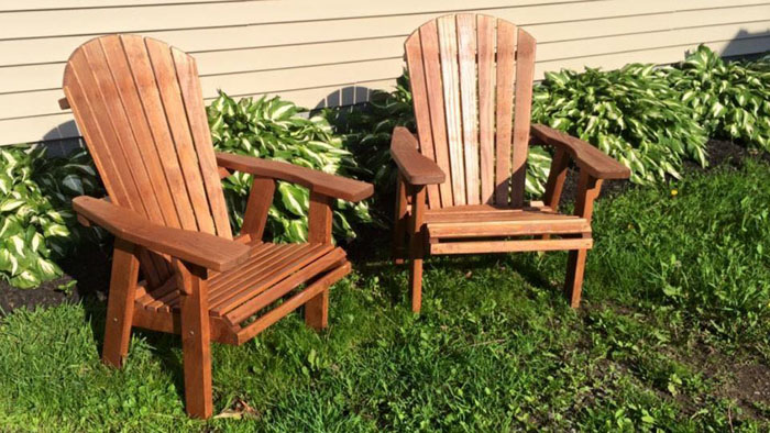 Outdoor Furniture. Adirondack Chairs.