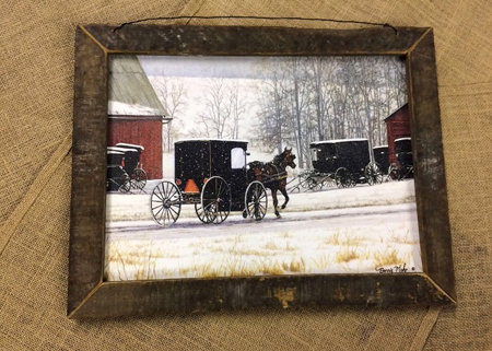 Lath Framed Pictures